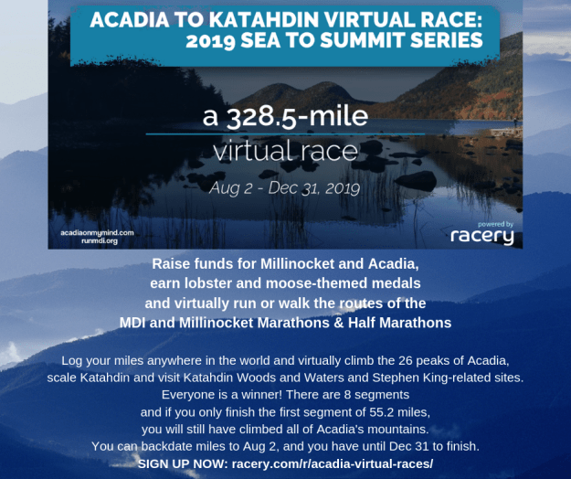 acadia to katahdin virtual race