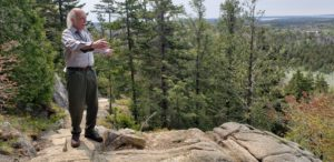 Gary Stellpflug is foreman of trails crew at Acadia National Park
