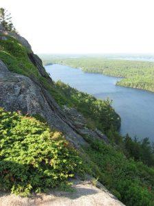 Beech Cliff over Echo Lake