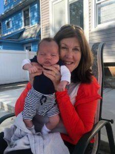 Kerrie Molloy and grandson, Joseph Thomas Adamo