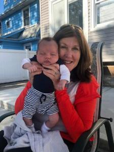 Kerrie Molloy and grandson, Joseph Thomas Adamo