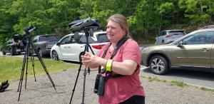 Angi King Johnston at Acadia Birding Festival