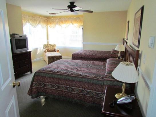 Manor A Side Guest Bedroom Acadia Village Resort