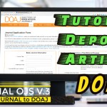 Tutorial DOAJ Metadata Artikel