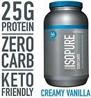 Isopure Zero Carb, Keto Friendly Protein Powder, 100% Whey Protein Isolate