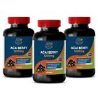 acai berry cleanse – Acai Berry 1200mg – fat burn cleanse – 3 Bottles
