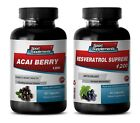 antioxidant and probiotic – ACAI BERRY – RESVERATROL COMBO 2B – acai berry clean