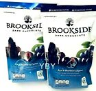 2 Packs Brookside Dark Chocolate Acai and Blueberry Flavors 32 OZ Each Pack