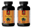 ACAI Berry 1200mg – Super Anti-Oxidant – Immune System Booster (2 Bottles)