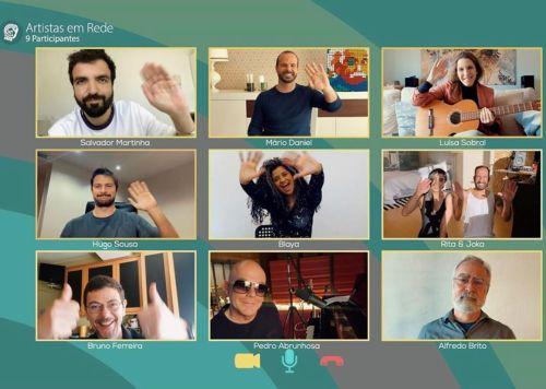 'Artistas em Rede' junta Blaya, Luísa Sobral e Hugo Sousa na RTP