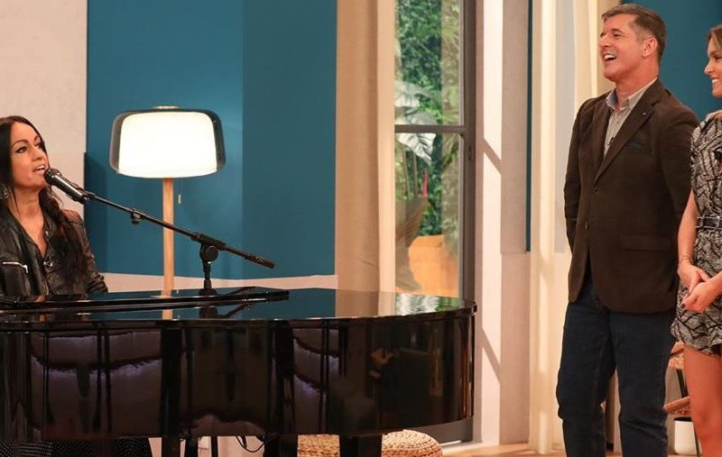 Rita Guerra recorda Beto no programa 'Casa Feliz'