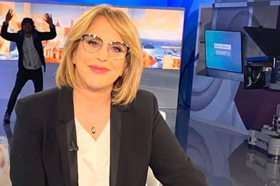 Isolamento afasta Dina Aguiar do 'Portugal em Direto'