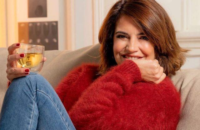Bárbara Guimarães na estreia do Estamos em Casa