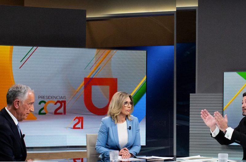 Debate entre Marcelo e André Ventura foi o mais visto desde 2012