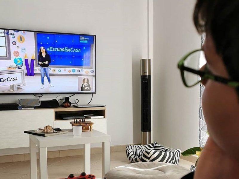 #Estudo Em Casa. Há um novo canal para alunos do secundário