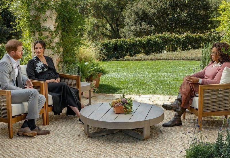 Entrevista a Meghan Markle e Harry transmitida pela SIC