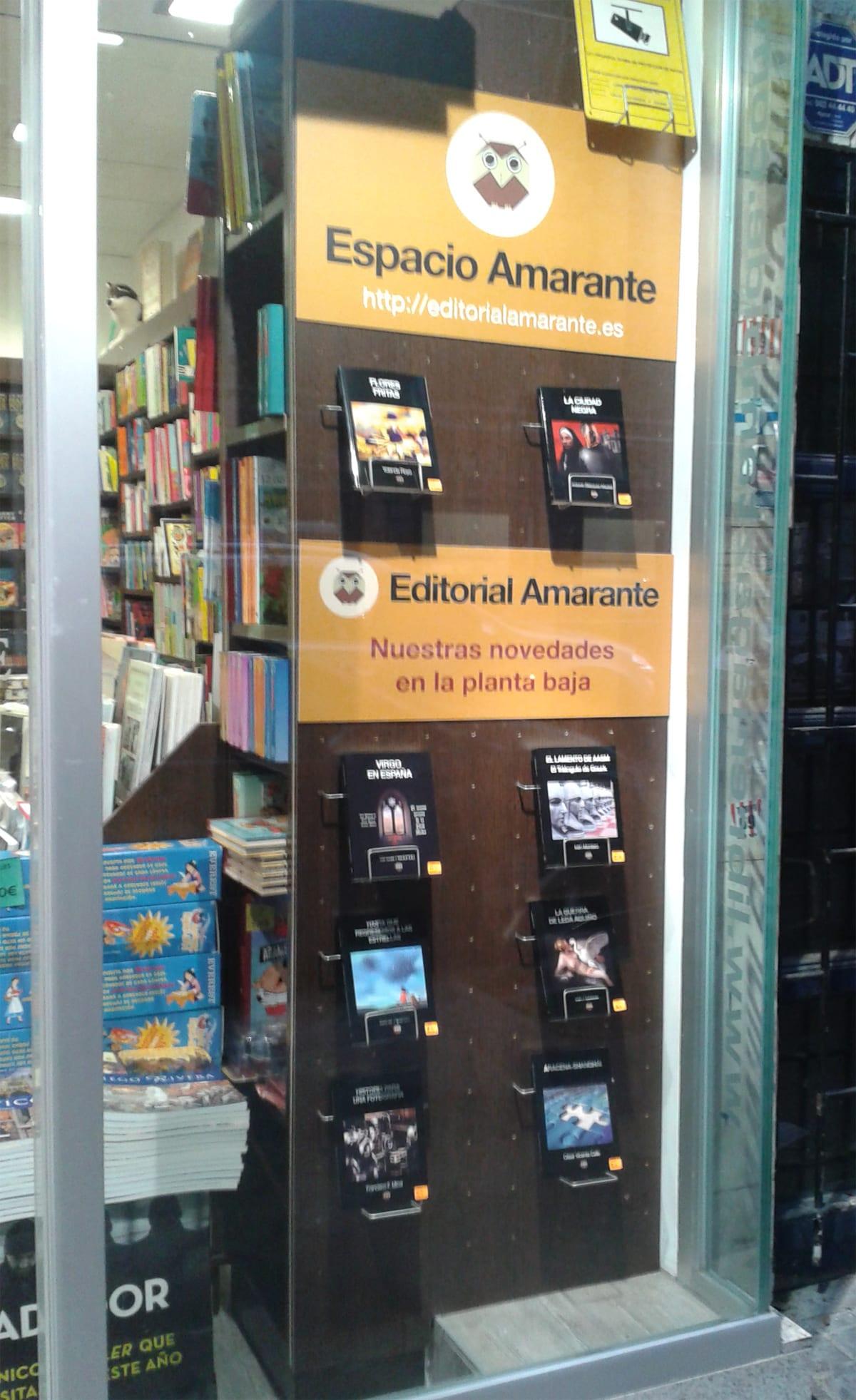 Espacio Amarante - Librería Gaztambide