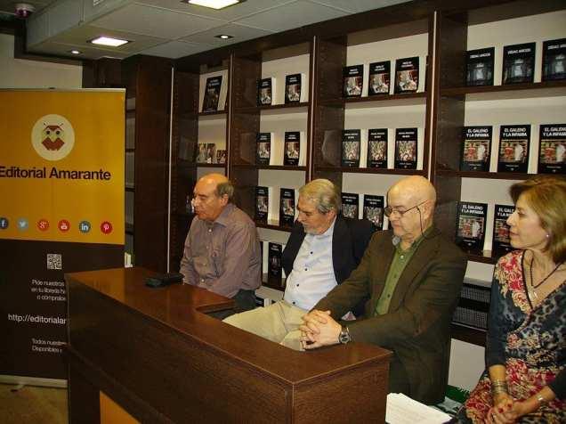 Tarde de novela negra junto a cuatro magníficos escritores