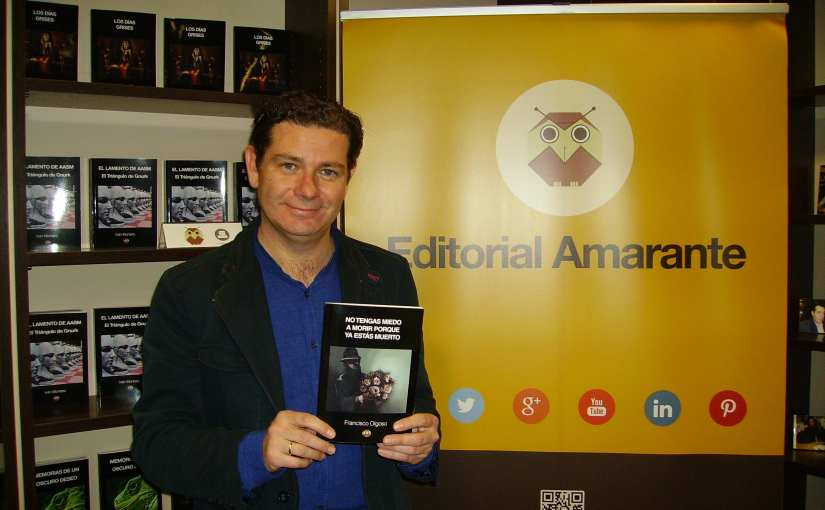 Francisco Olgoso visitó Espacio Amarante