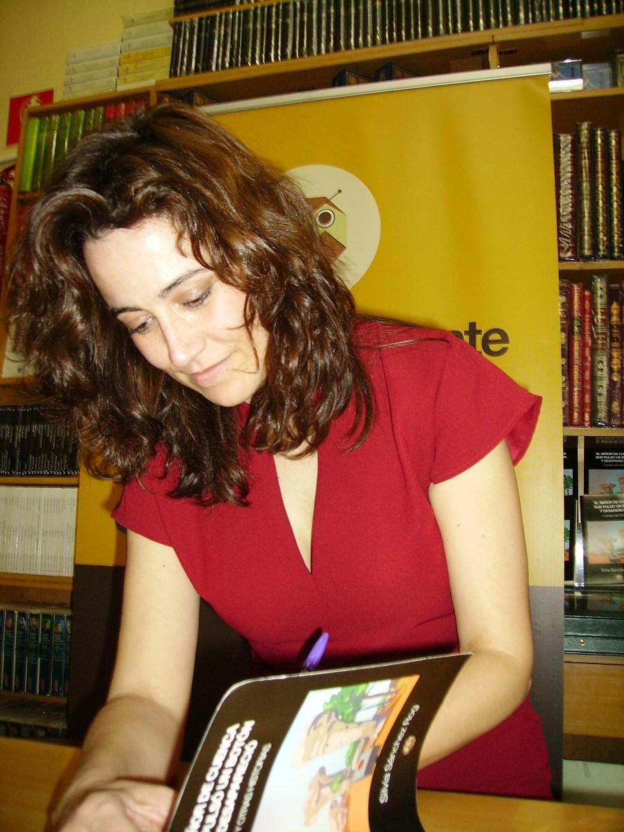 Silvia Sánchez Rog presentó su último libro de relatos