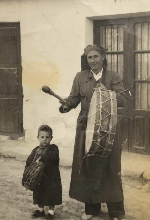 Posiblemente el primer bombo que se tocó en Calanda era el de Miguel Magrazó Loscos
