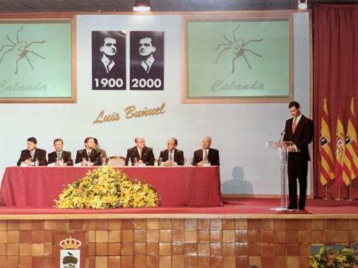 El Príncipe de Asturias en la inauguración del Centro Buñuel - CBC