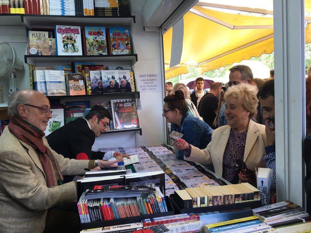 Editorial Amarante - JR Chaves - JM del Valle - Feria del Libro de Madrid 2016