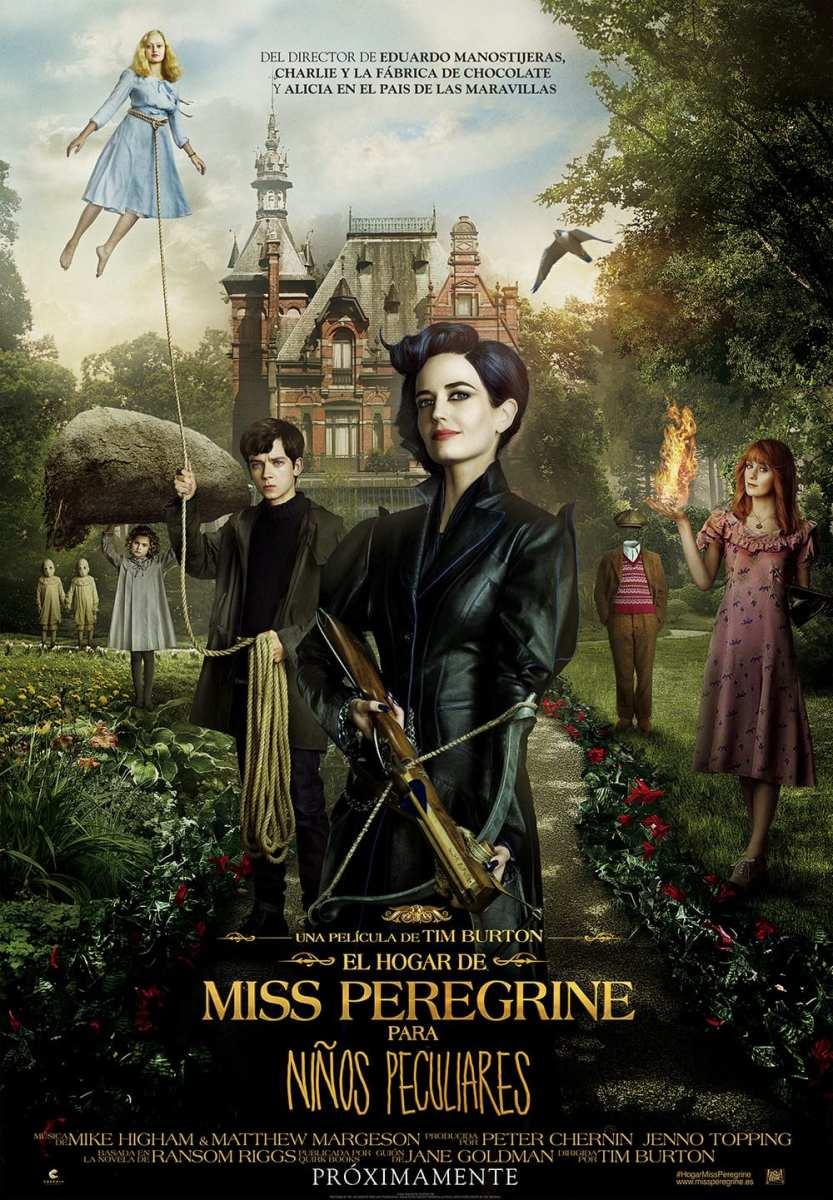 """La peculiaridad de Tim Burton. """"El hogar de Miss Peregrine para niños peculiares"""""""