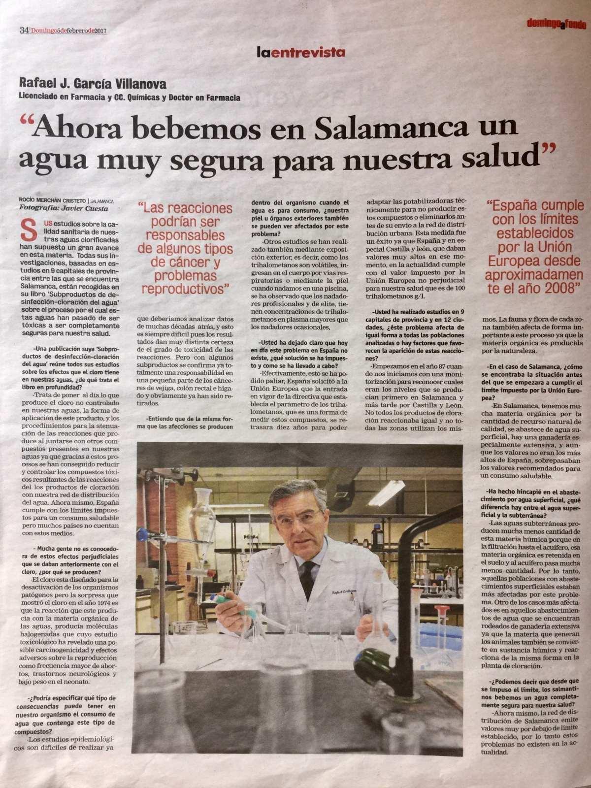 2017 - Editorial Amarante - Subproductos de desinfección - Cloración del agua - Rafael J. García-Villanova