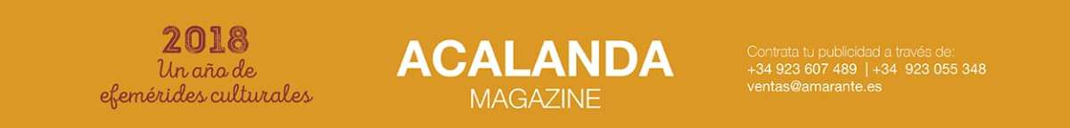 Acalanda Magazine - Amarante Store - Editorial Amarante 2018