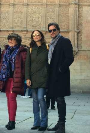 Maite López, Leonor Watling y Daniel Grao