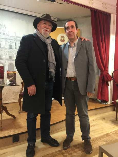 Carlos de Tomás junto a José Navarro