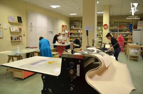 Fundación Venancio Blanco - Escuela de Arte. Sala de exposiciones Santo Domingo de la Cruz - Colección Venancio Blanco
