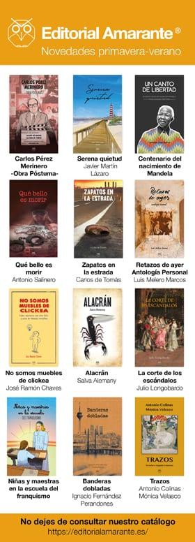 Editorial Amarante - 38 Feria del Libro de Salamanca