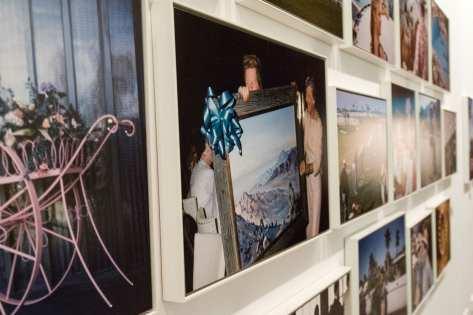 Fotografías de la serie 'Palm Springs.1960' incluidas en la exposición 'Robert Doisneau. La belleza de lo cotidiano'