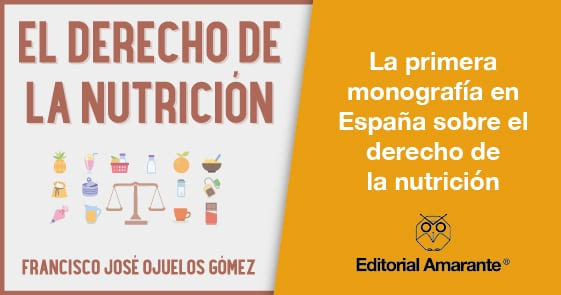 El Derecho de la Nutrición - Feria del Libro - Salamanca - 2019