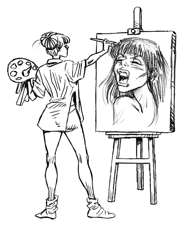 Editorial Amarante - La mente dibujada - GraceKlimt - Salvatwitts