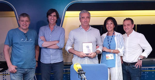 Escuchar Entrevista en Cadena SER - La Ventana