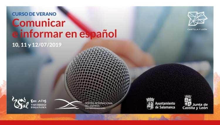 """La Universidad de Salamanca ofrece un novedoso curso de verano: """"Comunicar e informar en español"""""""