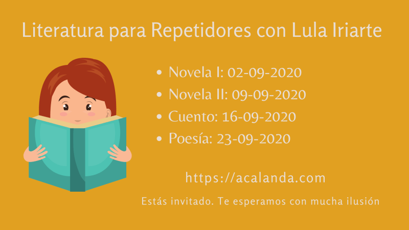 Acalanda TV Lula Iriarte. Literatura para repetidores