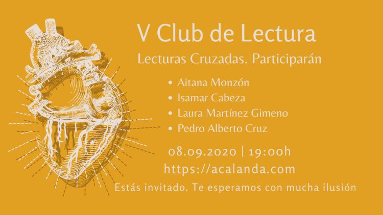 V Club de Lectura Amarante: Lecturas Cruzadas
