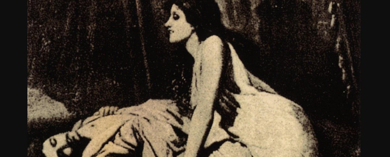 """Ilustración """"Le Vampire"""", de Sir Edward Burne-Jones"""