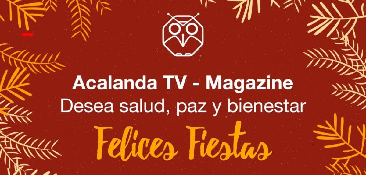 Tarjeta Navidad Acalanda TV
