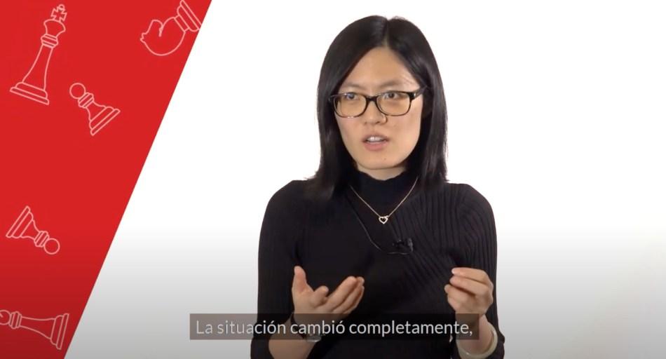 Hou Yifan - Ajedrez más allá del juego - Salamanca - Acalanda Magazine - Editorial Amarante