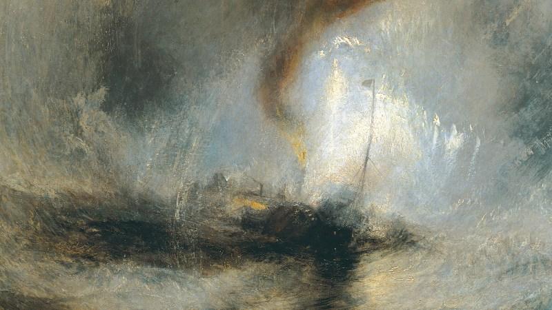 Snow Storm de J. M. W. Turner