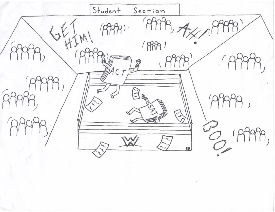 Bosshart ACT v. SAT Cartoon