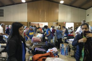 Community Gathers for Trust in Education Packing Party