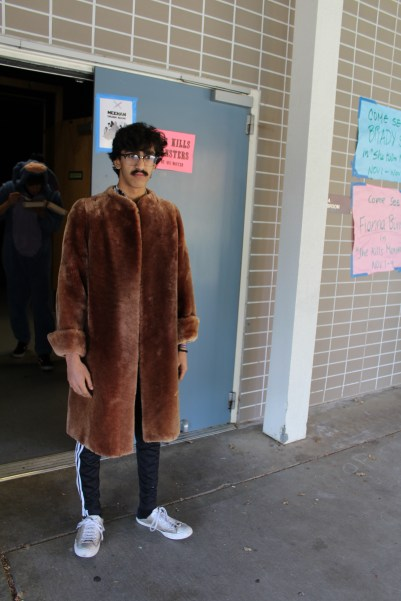 If senior Hurali Rizvi is Macklemore, he's only got 20 dollars in his pocket.