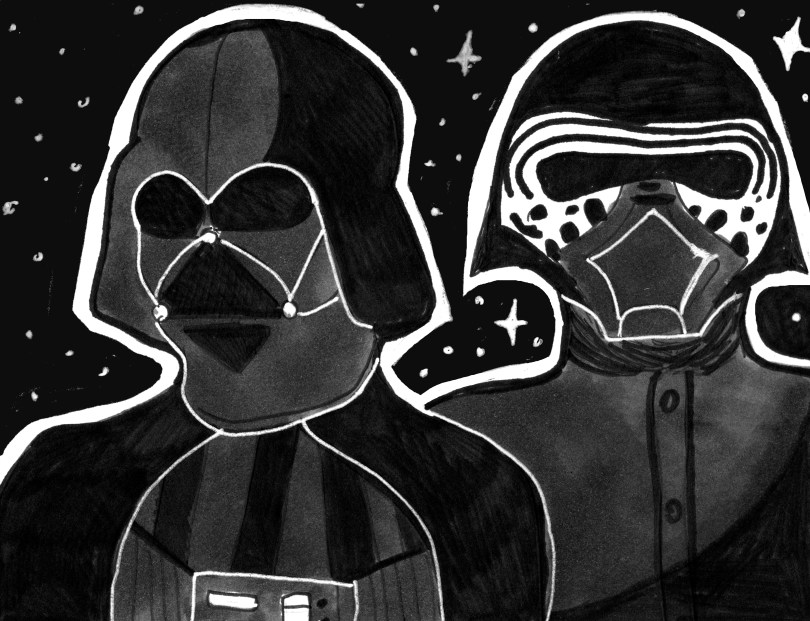 Arts-Maddy McCormick Star Wars cartoon