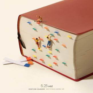 Tatsuya Tanaka, Miniature Calendar